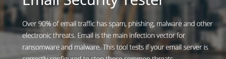 Libraesva: provate subito il tool gratuito Email Security Tester